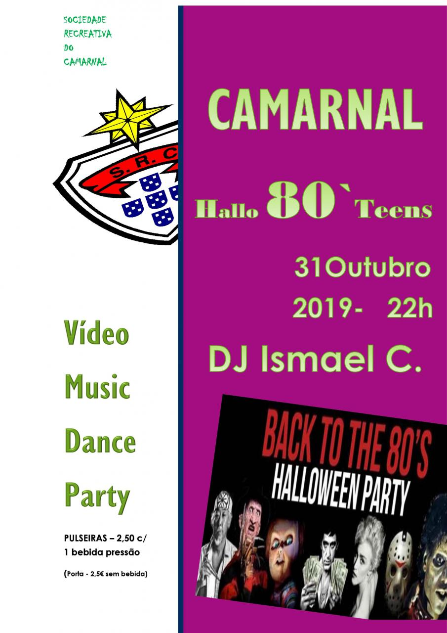 Festa de Halloween no Camarnal