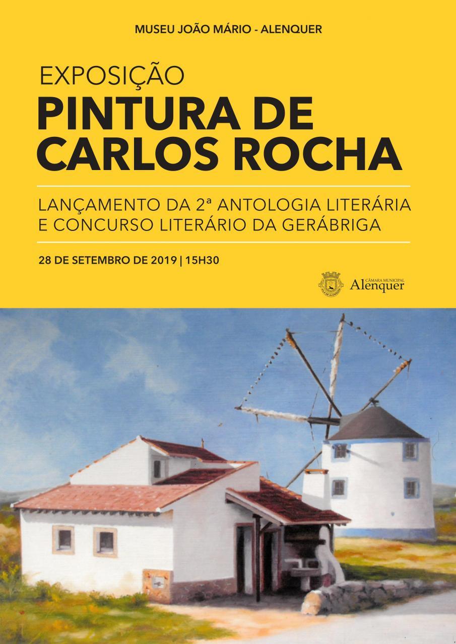 Exposição Pintura de Carlos Rocha
