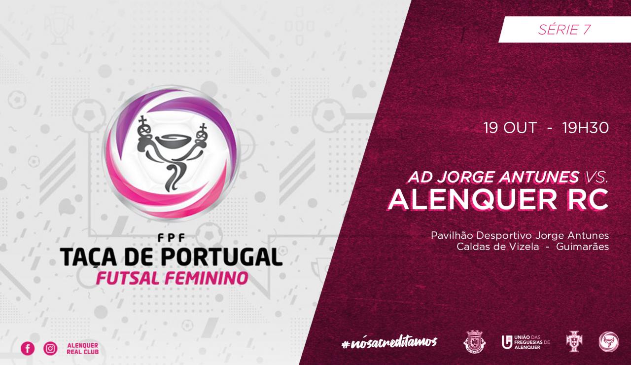 Eliminatória Taça de Portugal Futsal Feminino