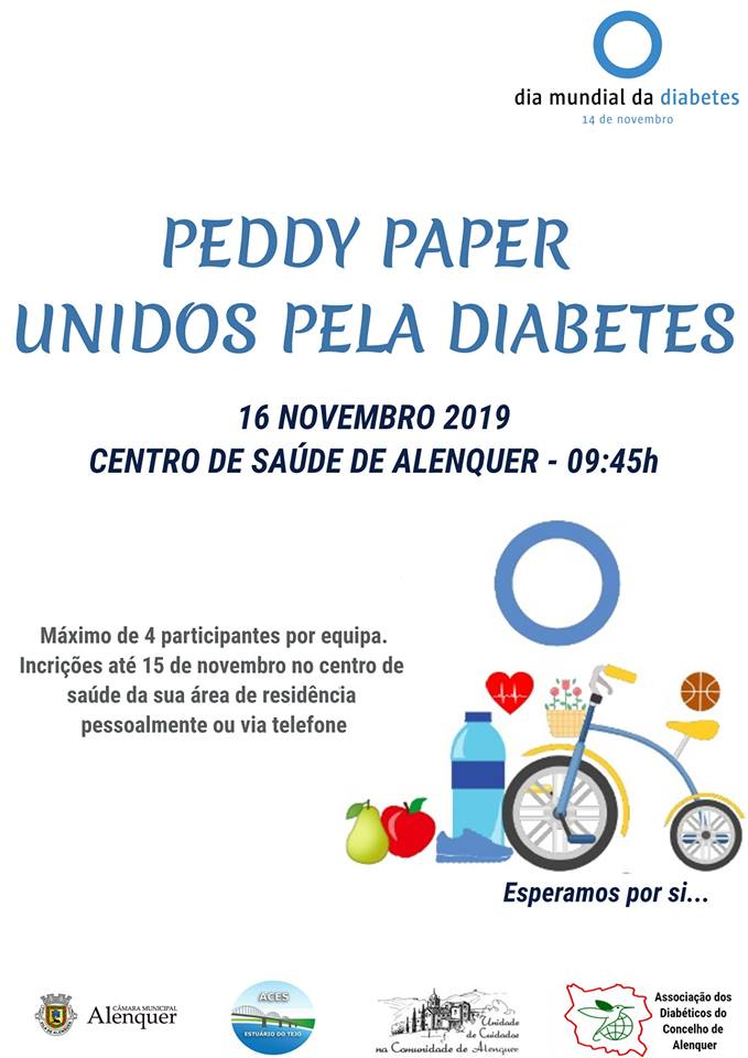 Peddy Paper Unidos pela Diabetes