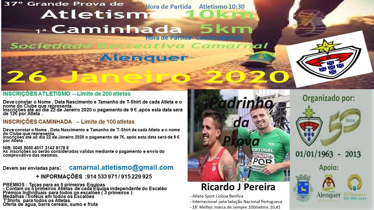 37 Grande Prémio Atletismo e 1º Caminhada Camarnal