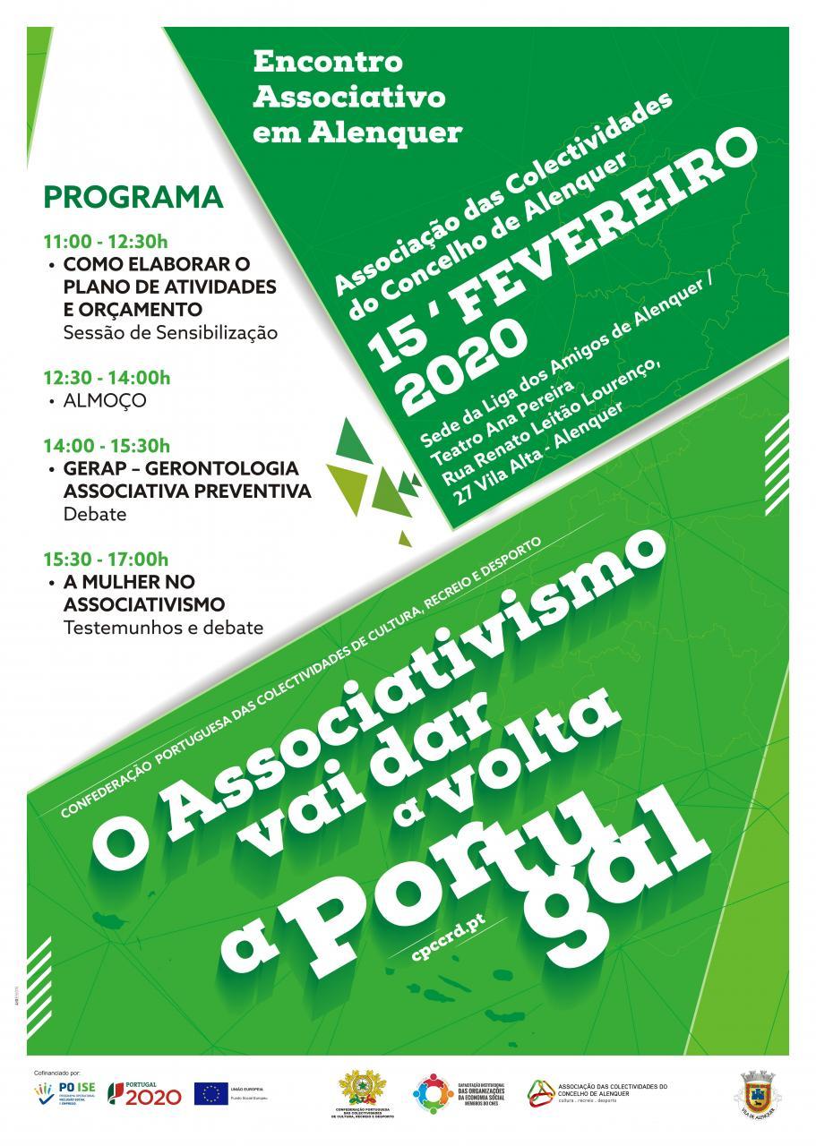 O Associativismo vai dar a Volta a Portugal