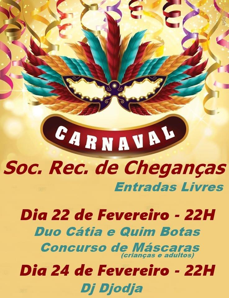 Festa Carnaval Soc. Rec. Cheganças