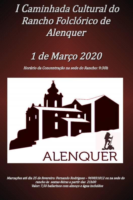 Caminhada Cultural do Rancho Folclórico de Alenquer