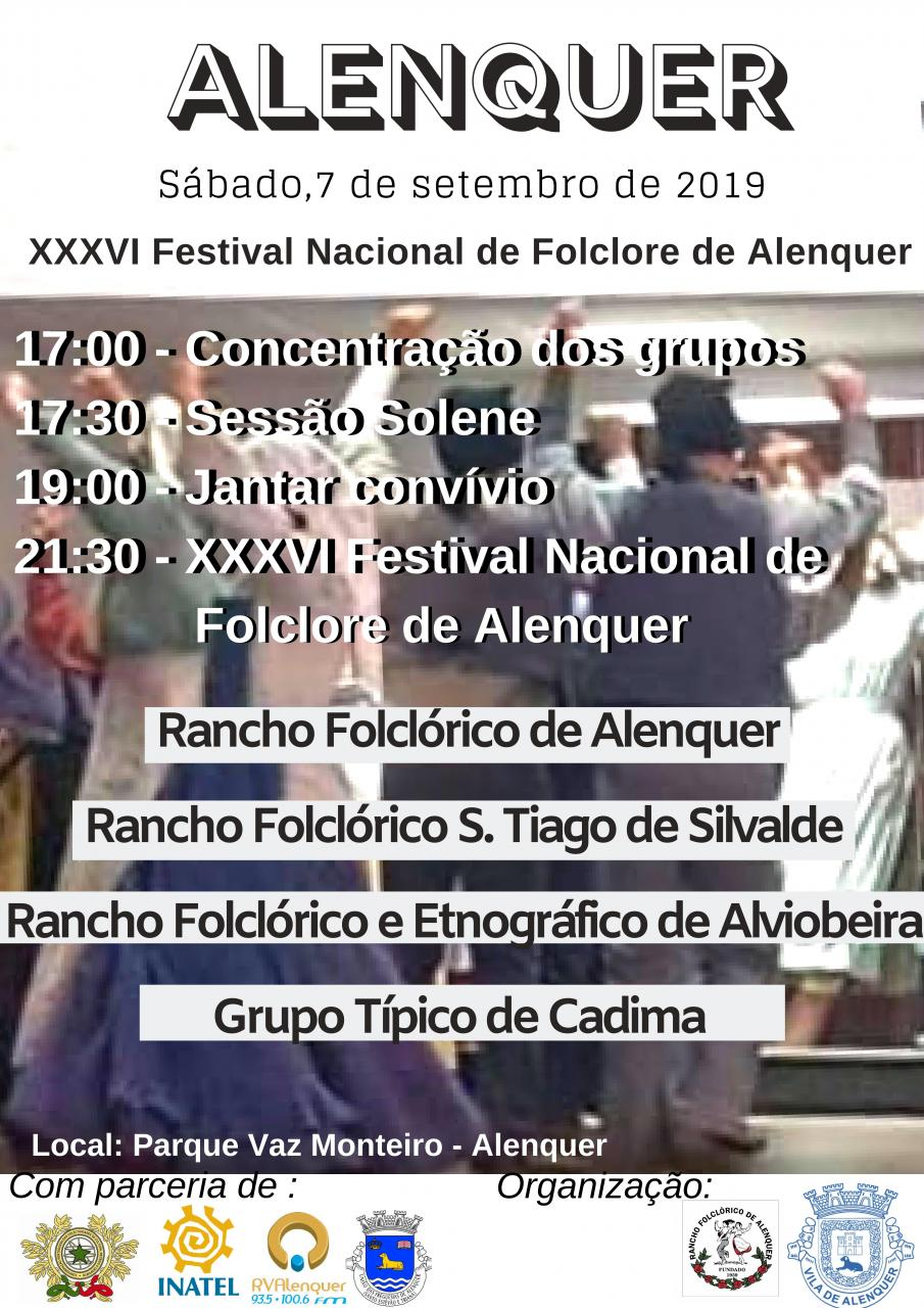XXXVI Festival Nacional de Folclore de Alenquer