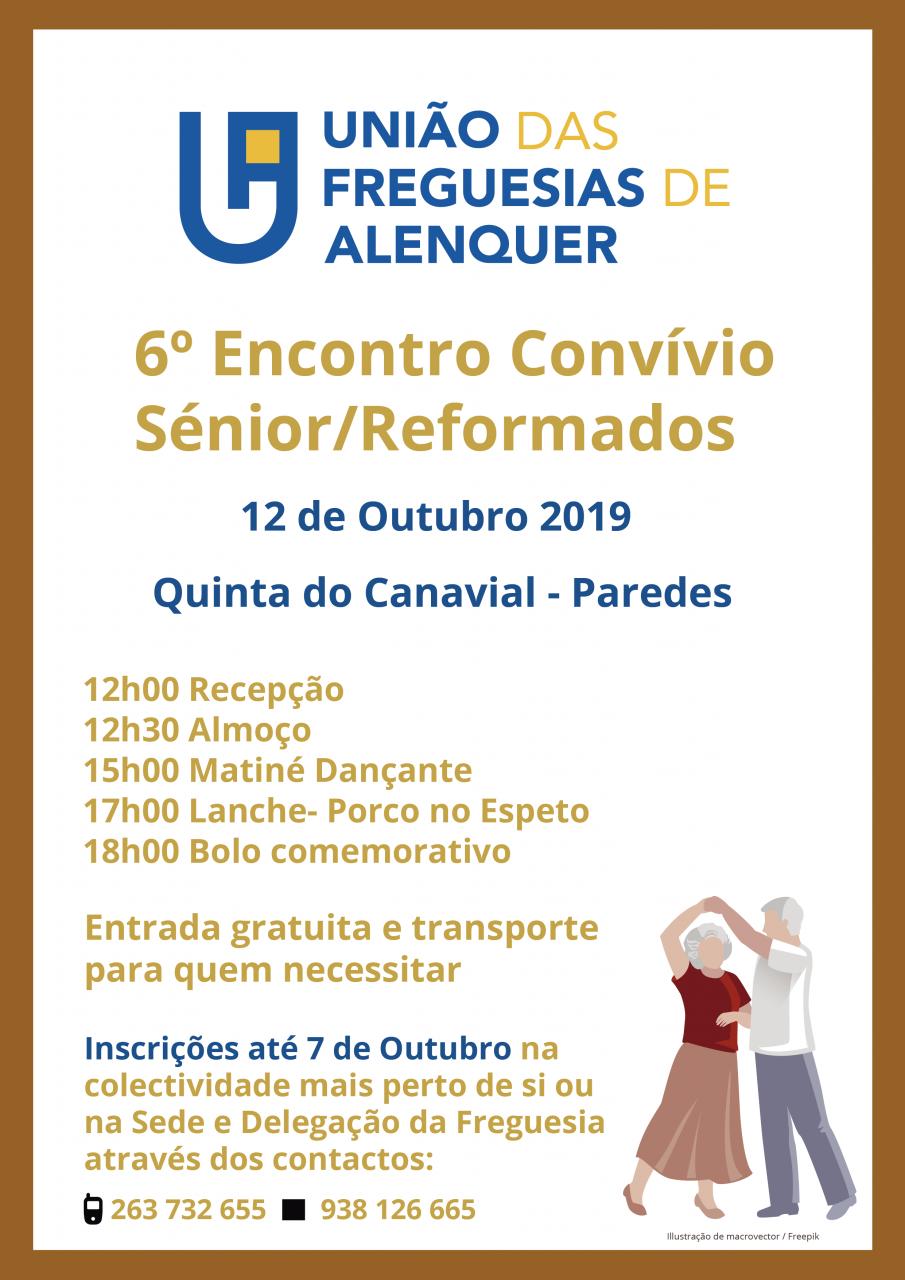 6º Encontro Convívio Senior/Reformados