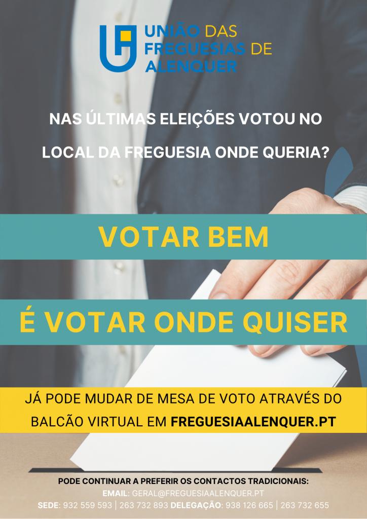 Votar Bem é Votar Onde Quiser