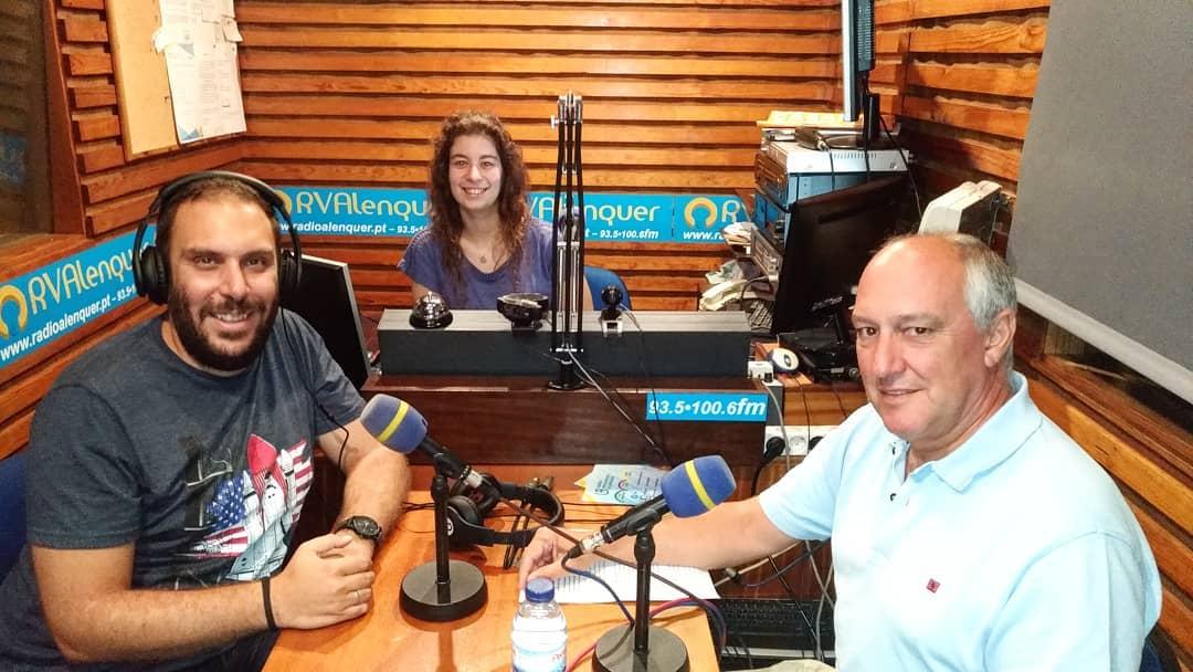 Nova identidade da Freguesia na Rádio Voz de Alenquer