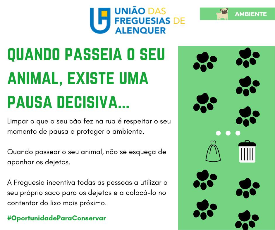 Freguesia lança acção de sensibilização de combate aos dejetos públicos