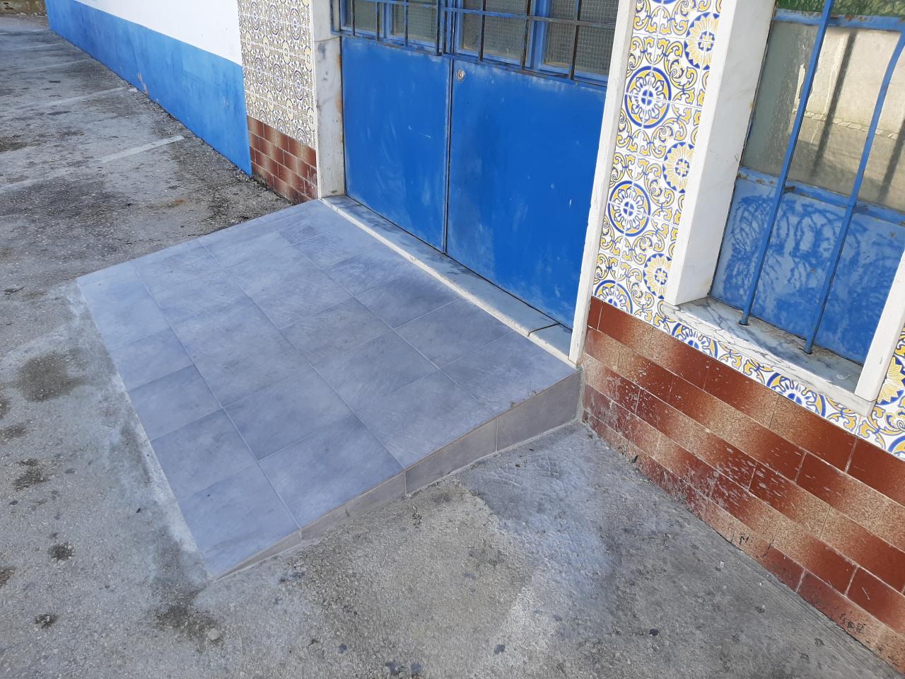 UDRC e Sporting de Alenquer adaptam as sedes a pessoas com mobilidade reduzida