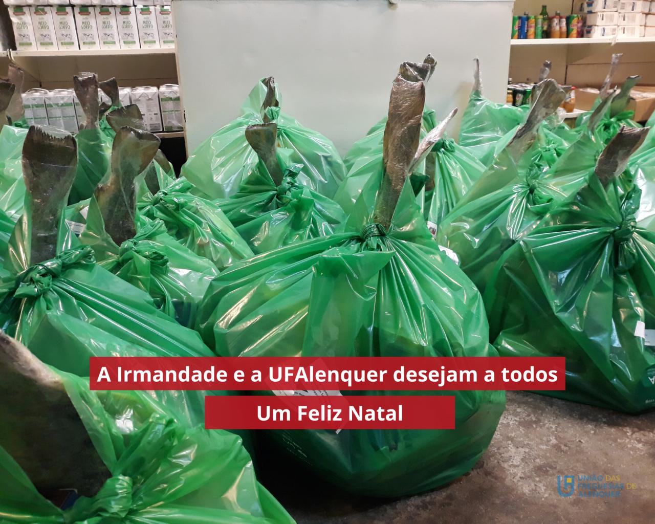 UFAlenquer e Irmandade ajudam famílias da Freguesia