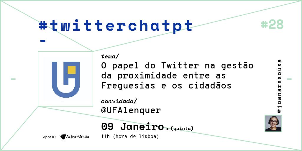 UFAlenquer foi a convidada do 1º Twitterchatpt de 2020