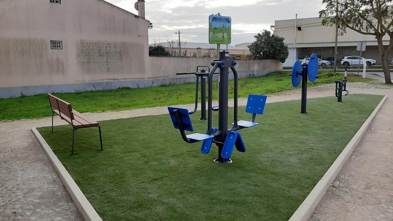 Parque desportivo formado em Cheganças